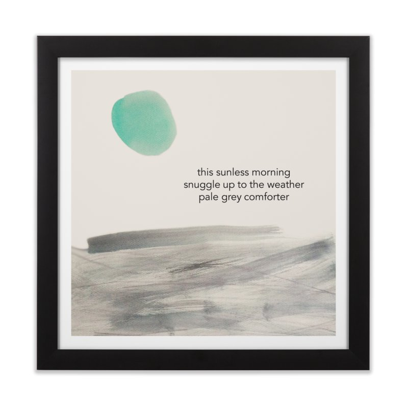 Comforter Home Framed Fine Art Print by LierreStudio's Artist Shop