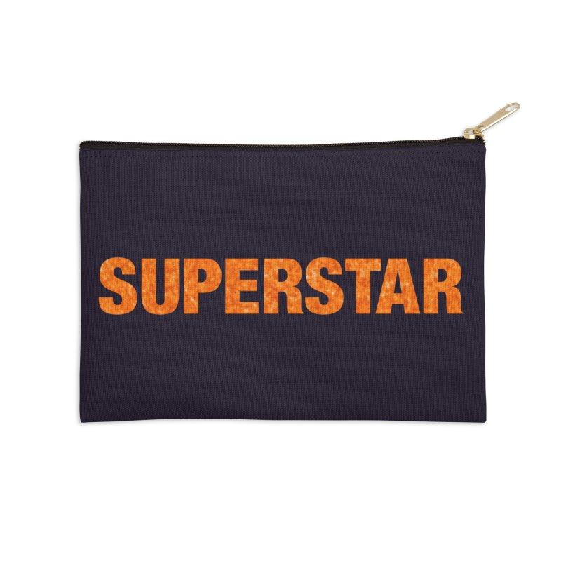 Superstar Stuff Accessories Zip Pouch by LierreStudio's Artist Shop