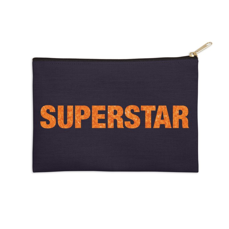 Superstar Stuff Accessories Zip Pouch by LierreStudio's Artist Shop