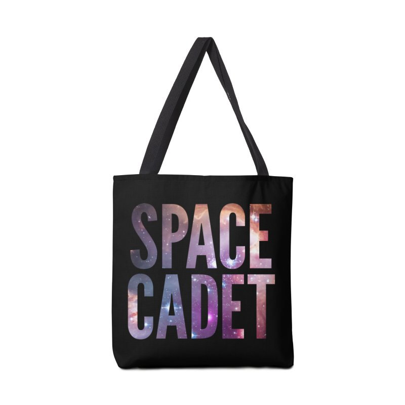 Space Cadet Tag-along Accessories Bag by LierreStudio's Artist Shop