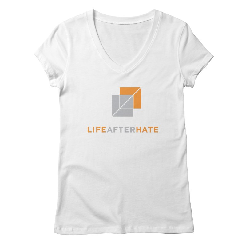 Life After Hate Women's Regular V-Neck by lifeafterhate
