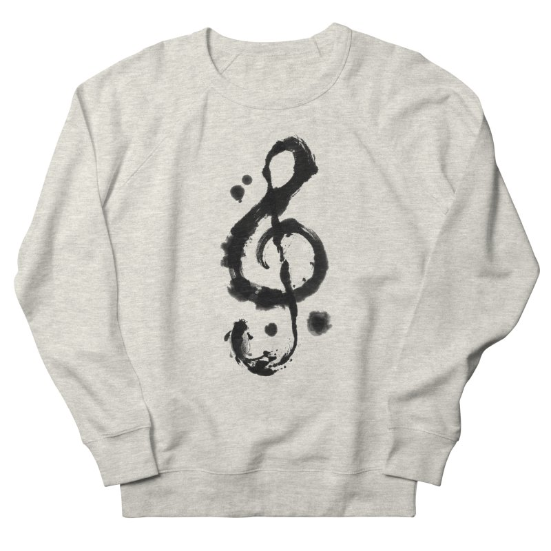 Rhythm Men's French Terry Sweatshirt by lifedriver's Artist Shop