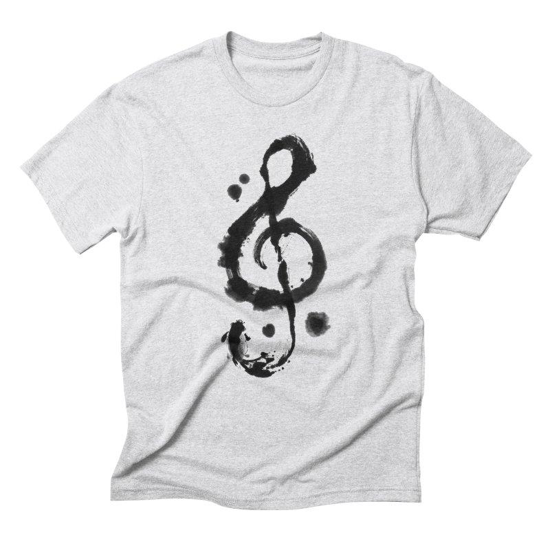Rhythm Men's Triblend T-shirt by lifedriver's Artist Shop
