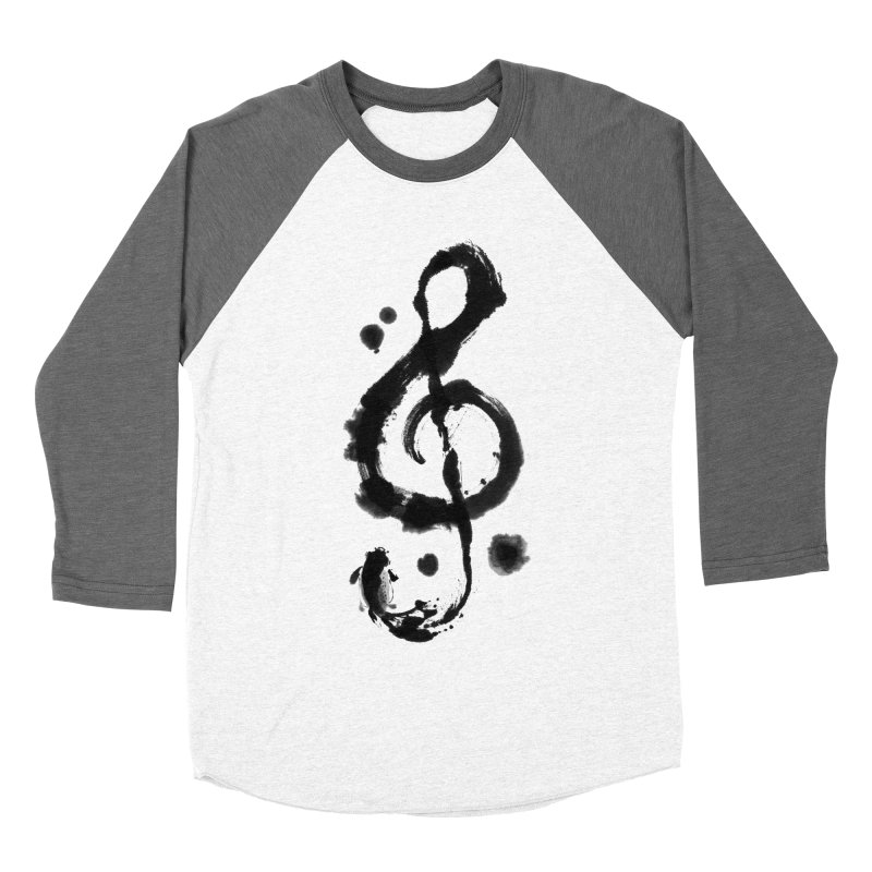 Rhythm Men's Baseball Triblend T-Shirt by lifedriver's Artist Shop