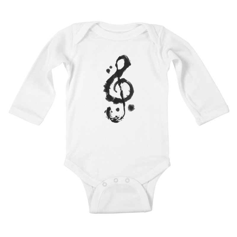 Rhythm Kids Baby Longsleeve Bodysuit by lifedriver's Artist Shop
