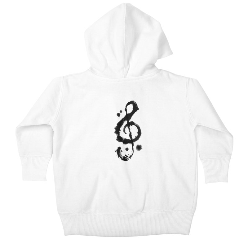 Rhythm Kids Baby Zip-Up Hoody by lifedriver's Artist Shop