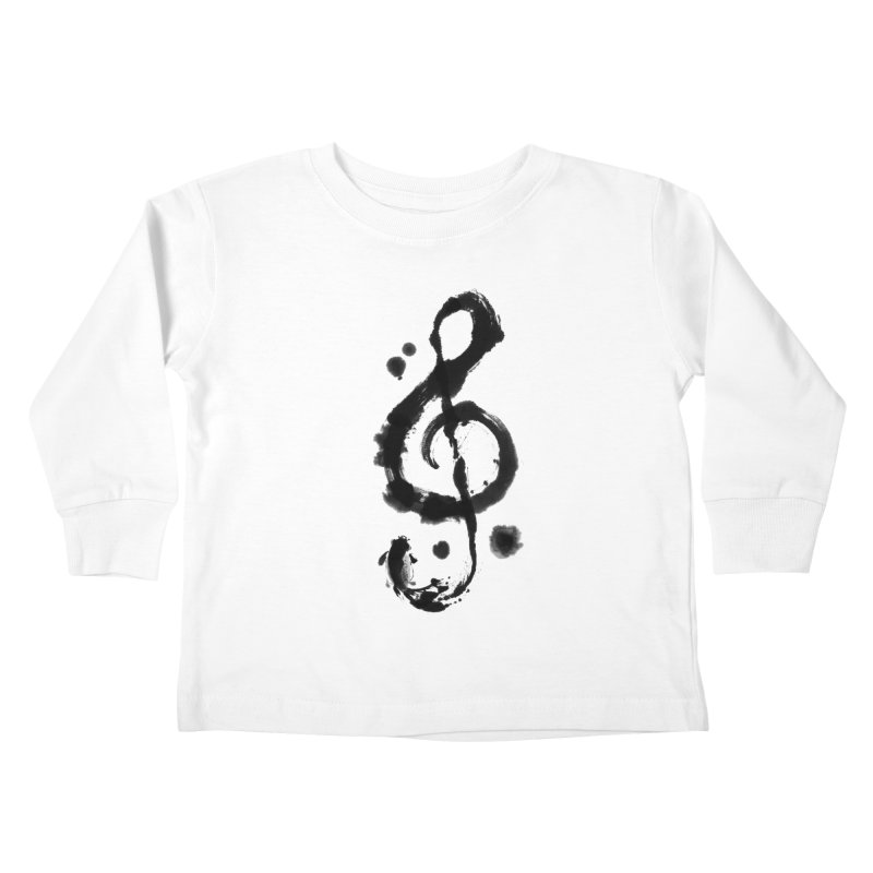 Rhythm Kids Toddler Longsleeve T-Shirt by lifedriver's Artist Shop