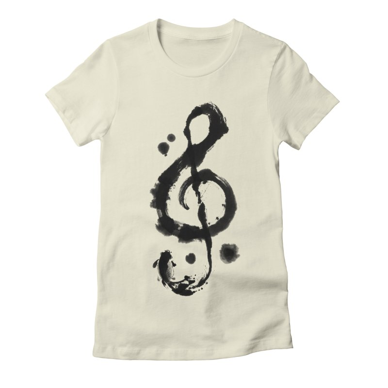 Rhythm Women's Fitted T-Shirt by lifedriver's Artist Shop