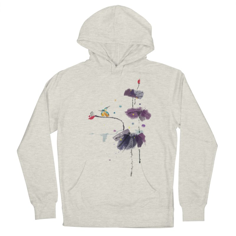 Lovely Night Women's French Terry Pullover Hoody by lifedriver's Artist Shop