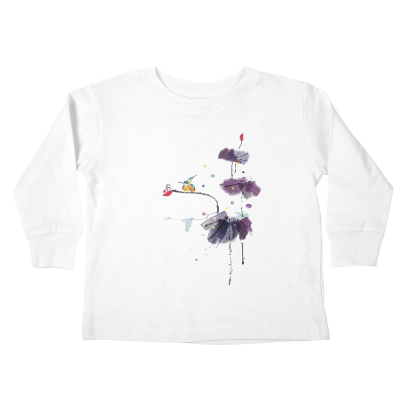 Lovely Night Kids Toddler Longsleeve T-Shirt by lifedriver's Artist Shop
