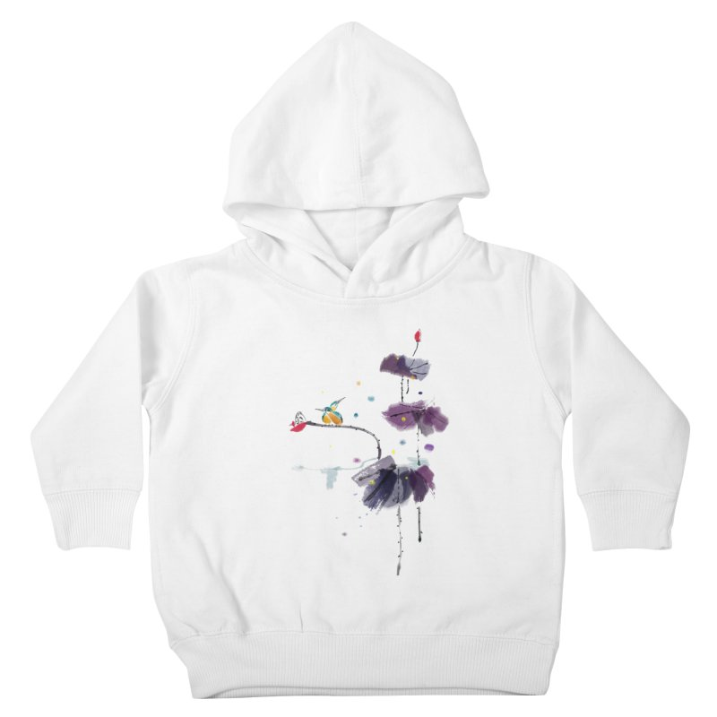 Lovely Night Kids Toddler Pullover Hoody by lifedriver's Artist Shop