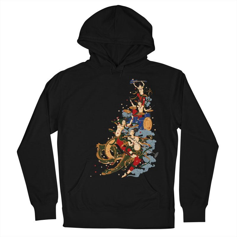 Feitian Women's French Terry Pullover Hoody by lifedriver's Artist Shop