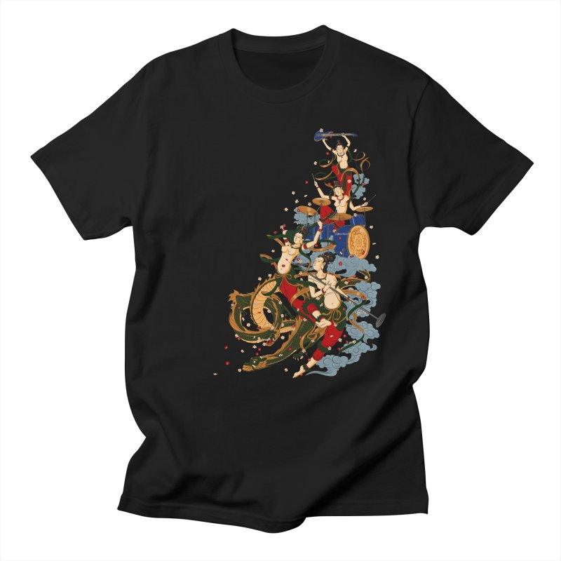 Feitian Men's T-shirt by lifedriver's Artist Shop