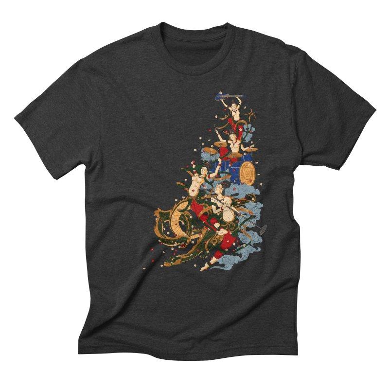 Feitian Men's Triblend T-shirt by lifedriver's Artist Shop