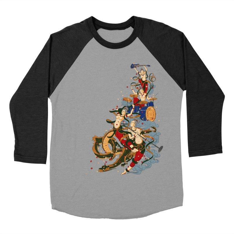 Feitian Men's Baseball Triblend T-Shirt by lifedriver's Artist Shop