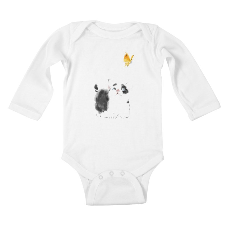 A Summer Afternoon Kids Baby Longsleeve Bodysuit by lifedriver's Artist Shop