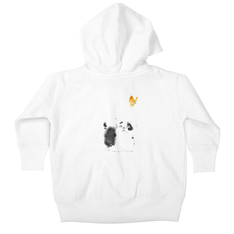 A Summer Afternoon Kids Baby Zip-Up Hoody by lifedriver's Artist Shop
