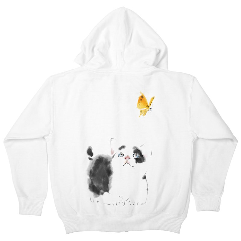 A Summer Afternoon Kids Zip-Up Hoody by lifedriver's Artist Shop