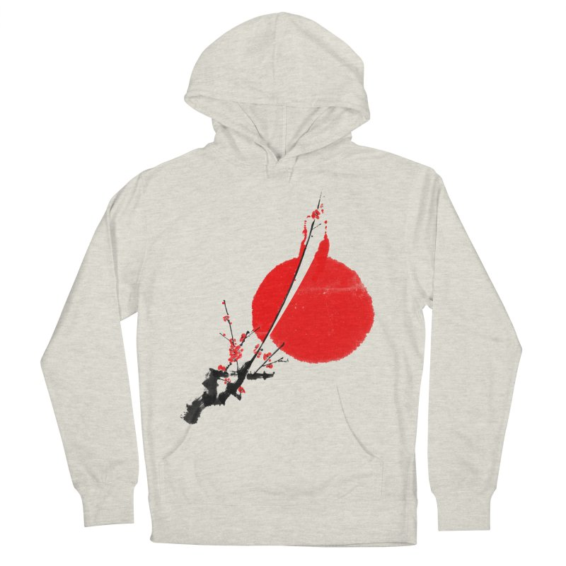 A Twig of Ume Blossoms Women's French Terry Pullover Hoody by lifedriver's Artist Shop