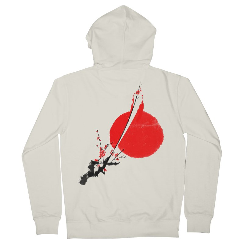 A Twig of Ume Blossoms Women's Zip-Up Hoody by lifedriver's Artist Shop