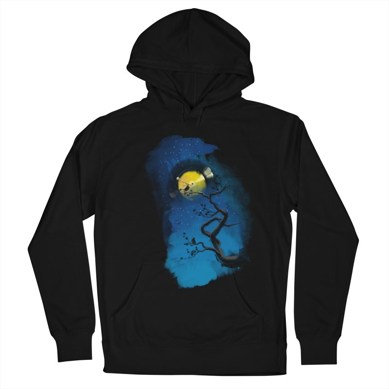 Tht Night Women's French Terry Pullover Hoody by lifedriver's Artist Shop
