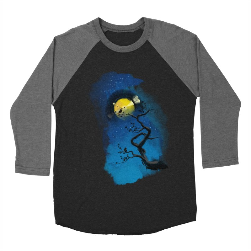 Tht Night Men's Baseball Triblend T-Shirt by lifedriver's Artist Shop