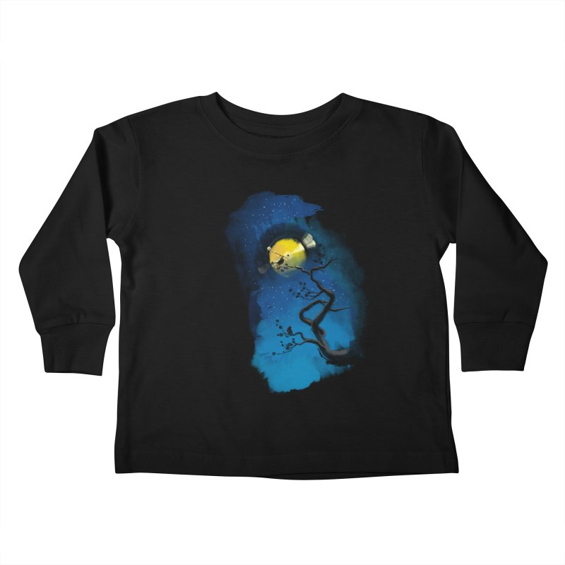 Tht Night Kids Toddler Longsleeve T-Shirt by lifedriver's Artist Shop