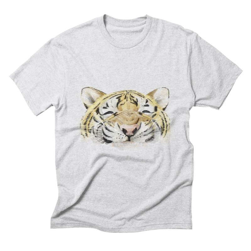 Smile Men's Triblend T-shirt by lifedriver's Artist Shop