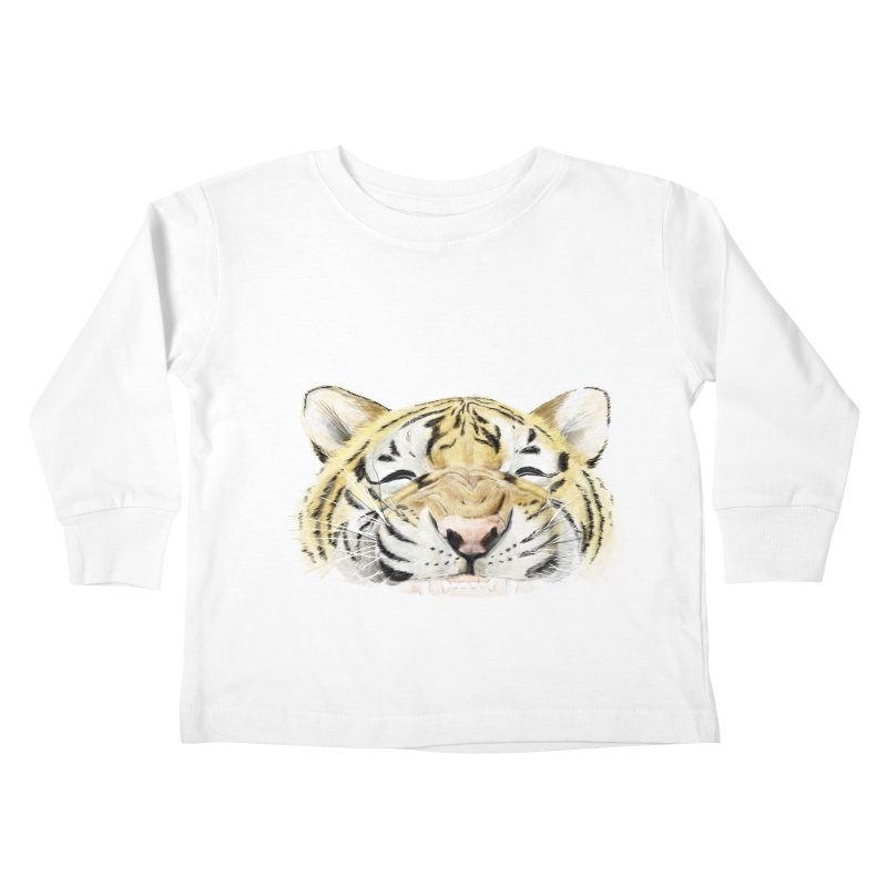 Smile Kids Toddler Longsleeve T-Shirt by lifedriver's Artist Shop