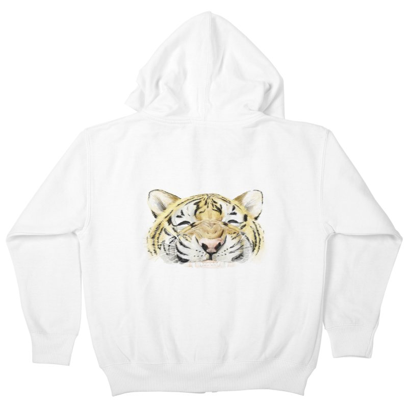 Smile Kids Zip-Up Hoody by lifedriver's Artist Shop