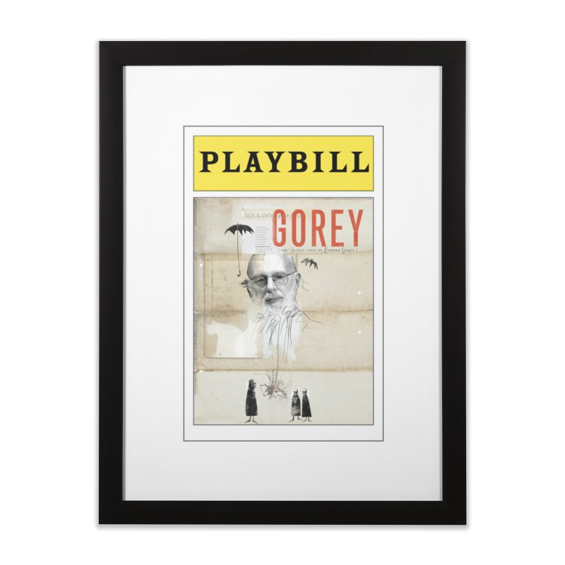 Gorey Home Framed Fine Art Print by Life Jacket Theatre Company