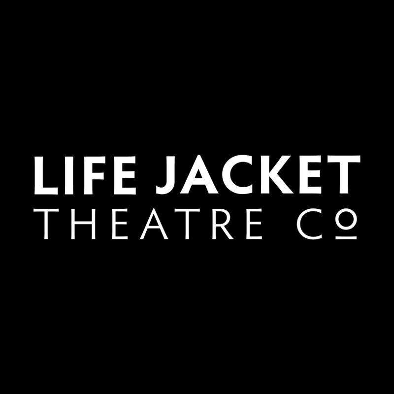 Life Jacket Logo: Black Home Tapestry by Life Jacket Theatre Company