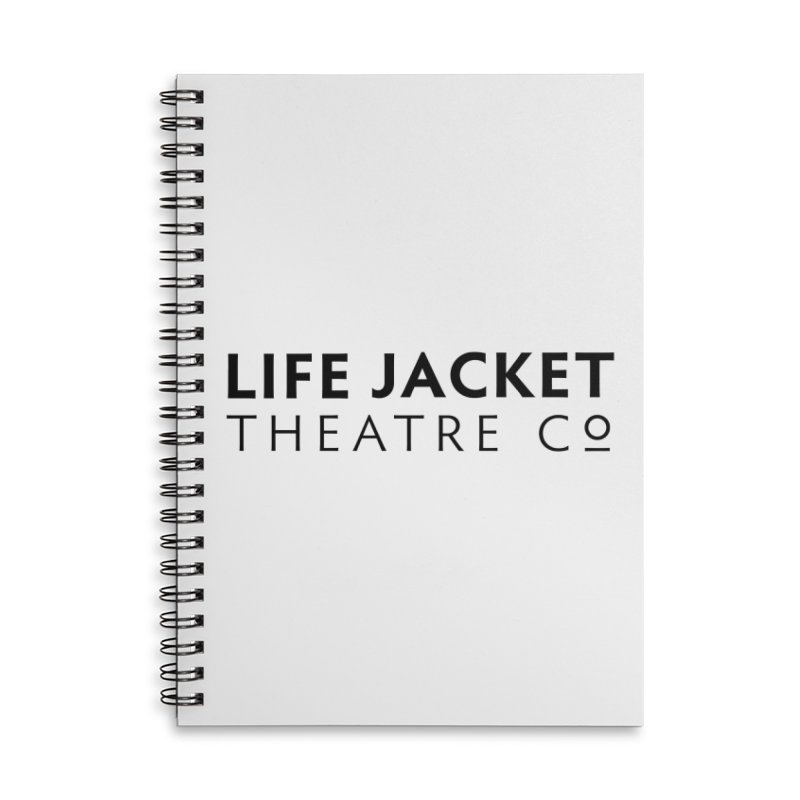 Life Jacket Accessories Lined Spiral Notebook by Life Jacket Theatre Company