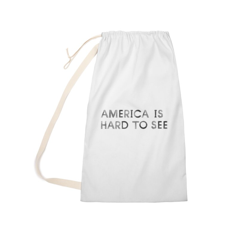 America Accessories Laundry Bag Bag by Life Jacket Theatre Company