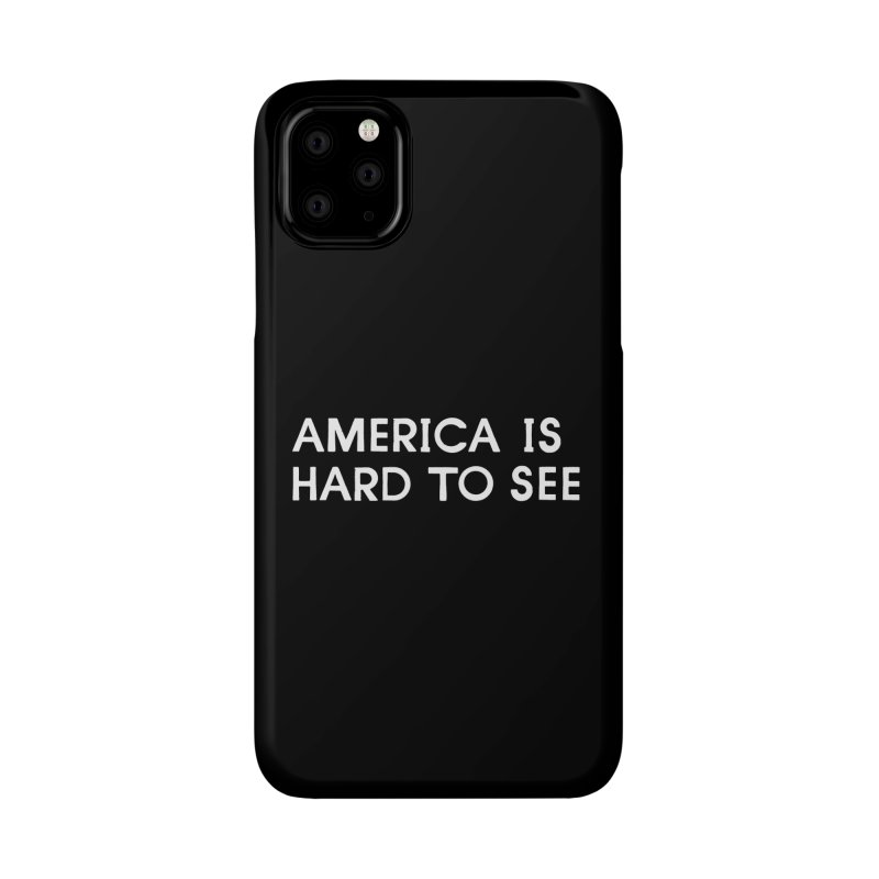 America Logo: Black Accessories Phone Case by Life Jacket Theatre Company