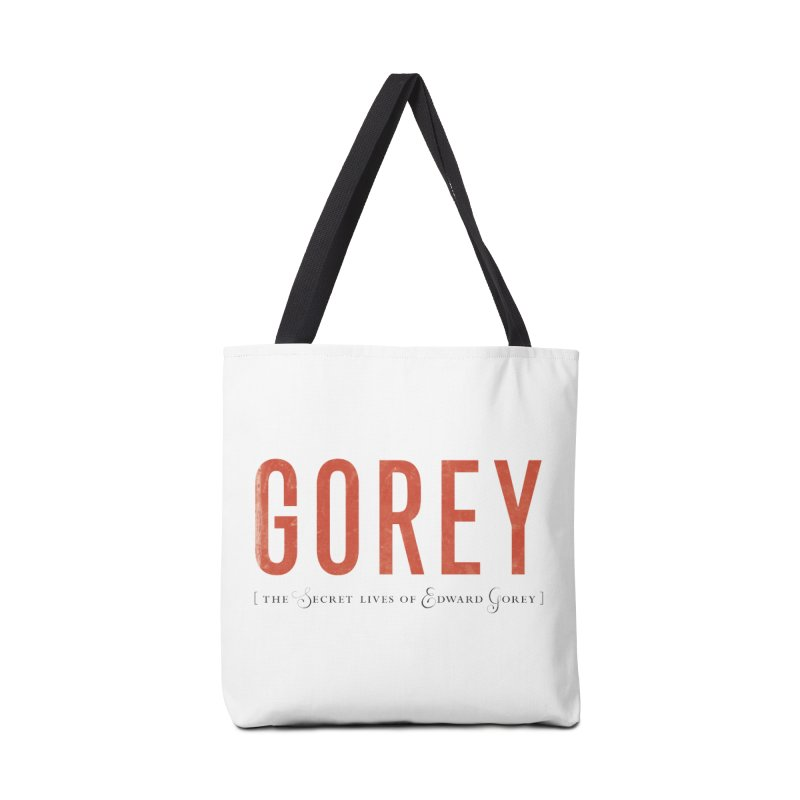 Gorey Accessories Bag by Life Jacket Theatre Company