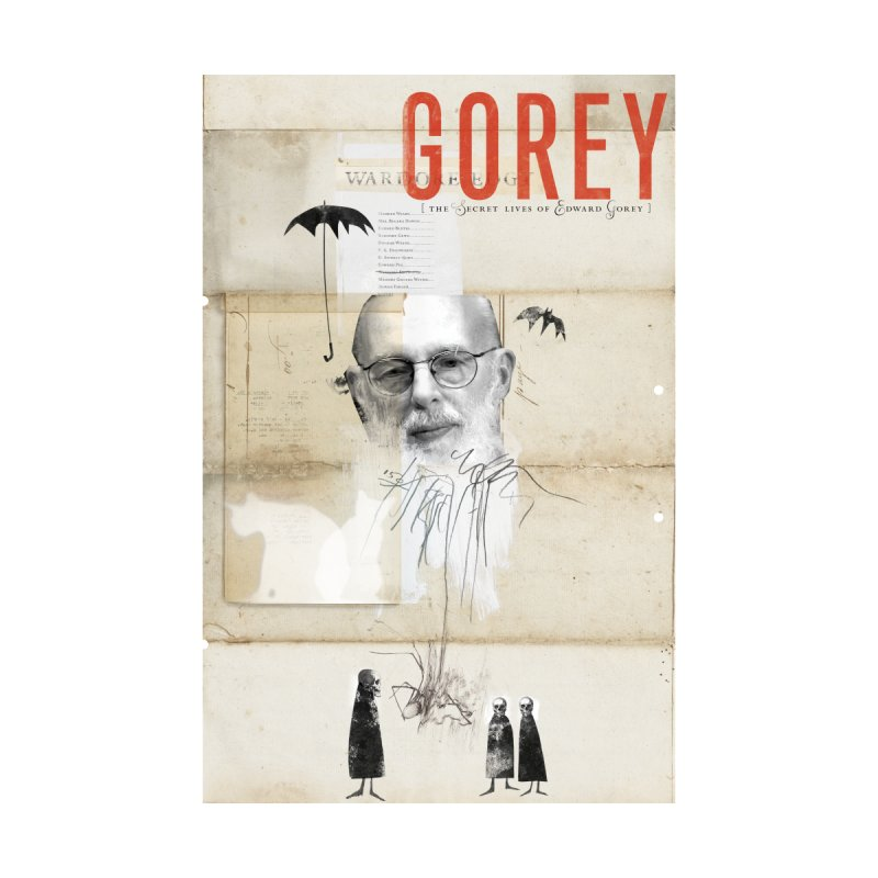 Gorey: Full Poster Art Accessories Beach Towel by Life Jacket Theatre Company