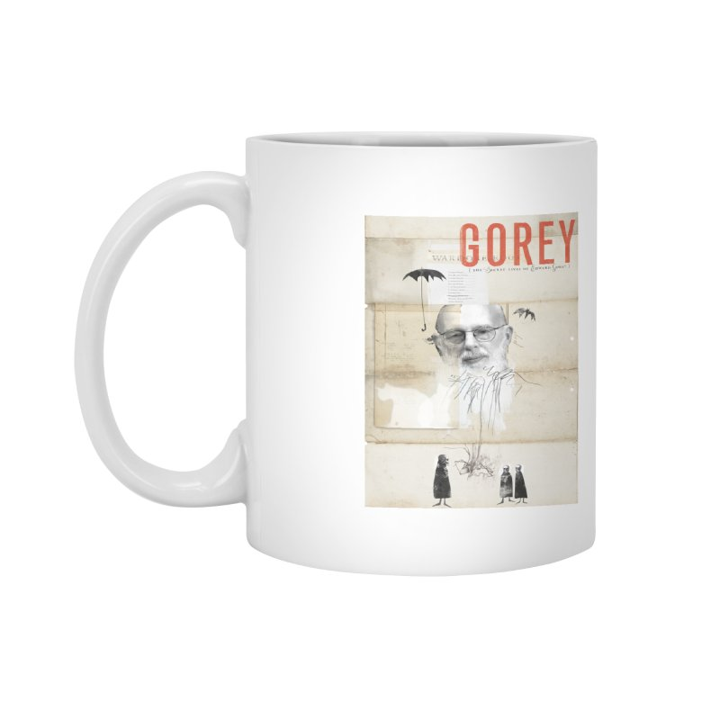 Gorey: Full Poster Art Accessories Mug by Life Jacket Theatre Company