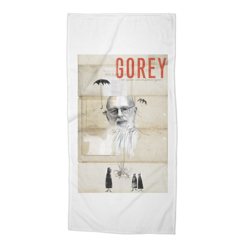 Gorey Accessories Beach Towel by Life Jacket Theatre Company