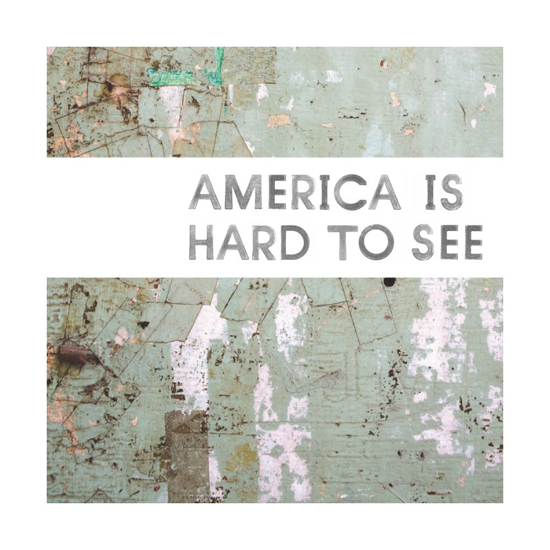 America: Artistic Title Card Home Framed Fine Art Print by Life Jacket Theatre Company
