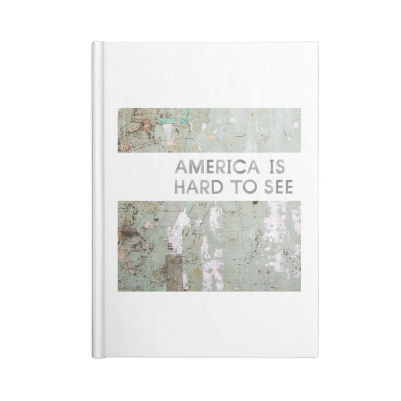 America Accessories Lined Journal Notebook by Life Jacket Theatre Company