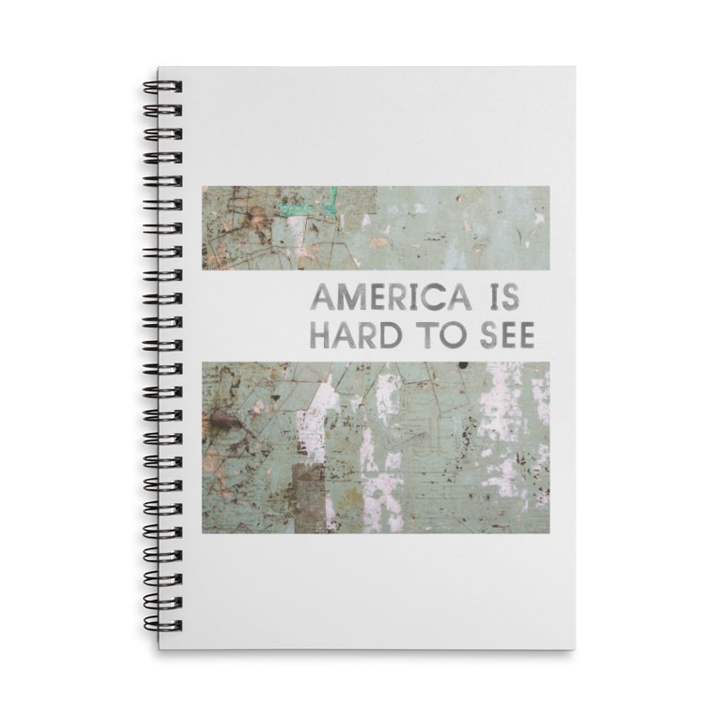 America Accessories Lined Spiral Notebook by Life Jacket Theatre Company