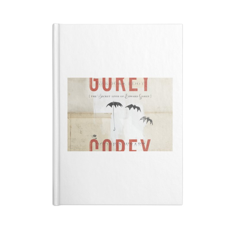 Gorey Accessories Notebook by Life Jacket Theatre Company