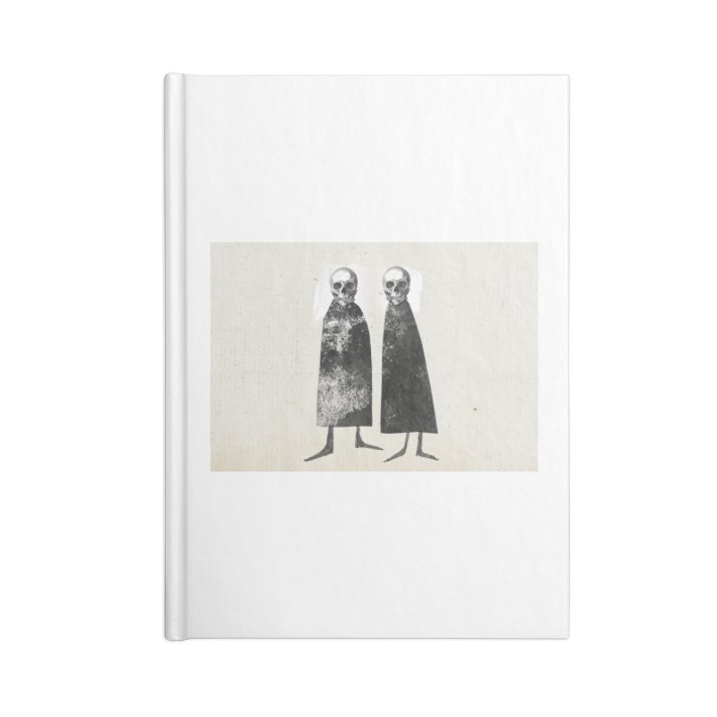 Gorey Accessories Blank Journal Notebook by Life Jacket Theatre Company