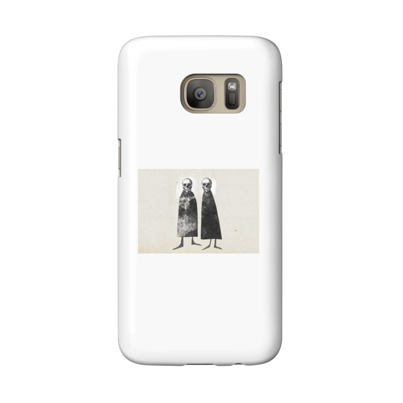 Gorey: Skull Art Accessories Phone Case by Life Jacket Theatre Company