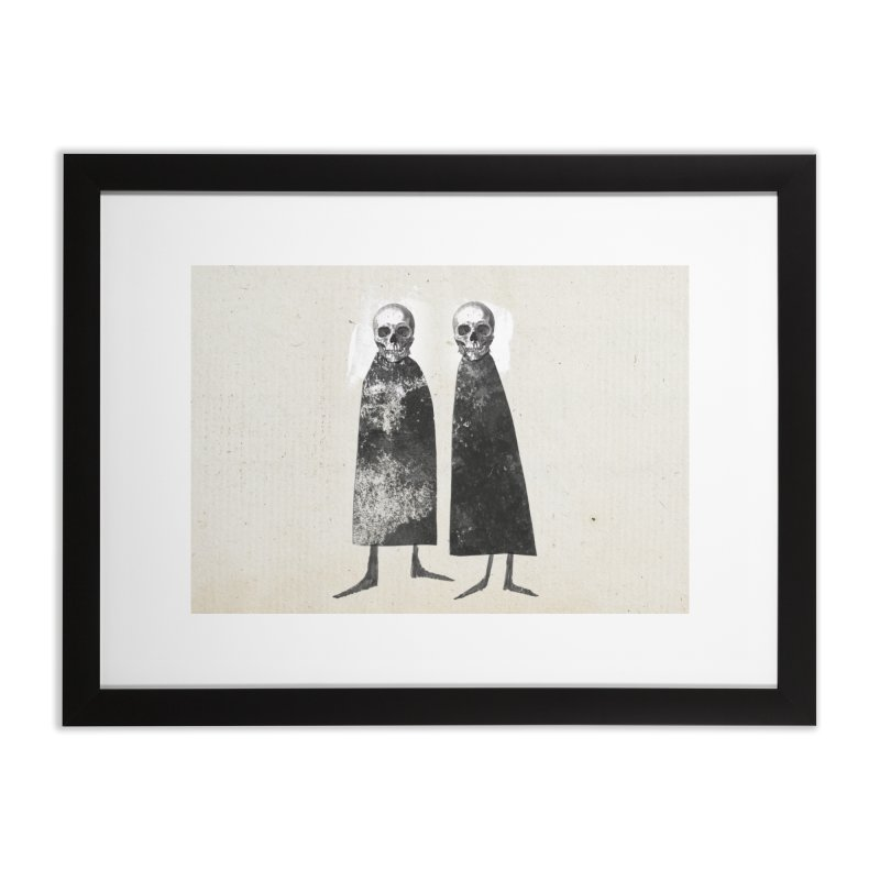 Gorey: Skull Art Home Framed Fine Art Print by Life Jacket Theatre Company