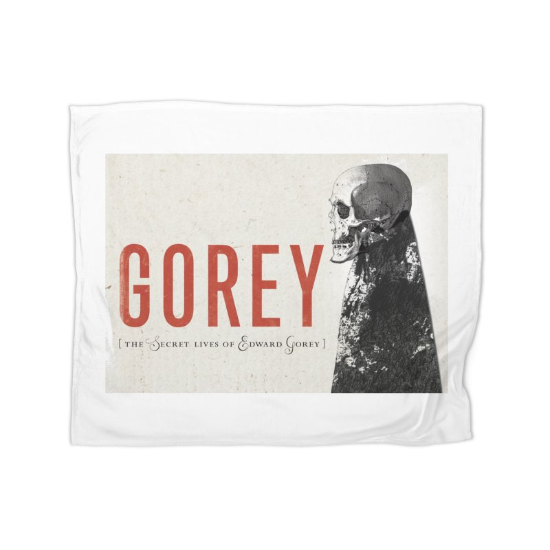 Gorey Home Fleece Blanket Blanket by Life Jacket Theatre Company