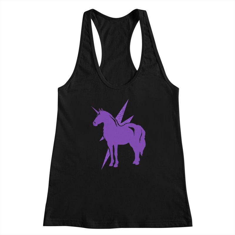 Unicorn T-shirt Women's Tank by Life Lurking's Artist Shop