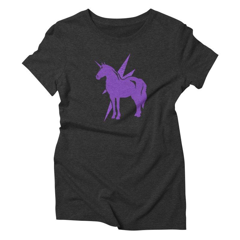Unicorn T-shirt Women's T-Shirt by Life Lurking's Artist Shop