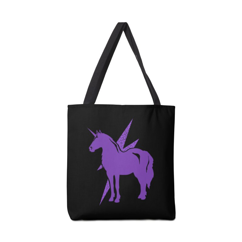 Unicorn T-shirt Accessories Bag by Life Lurking's Artist Shop